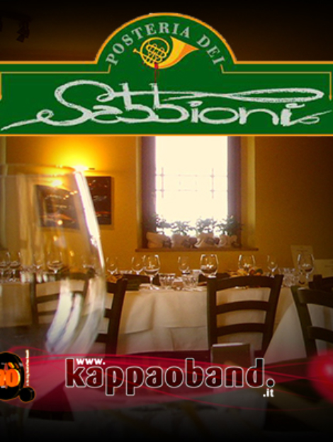 Kappaoband live Antica Posteria dei Sabbioni